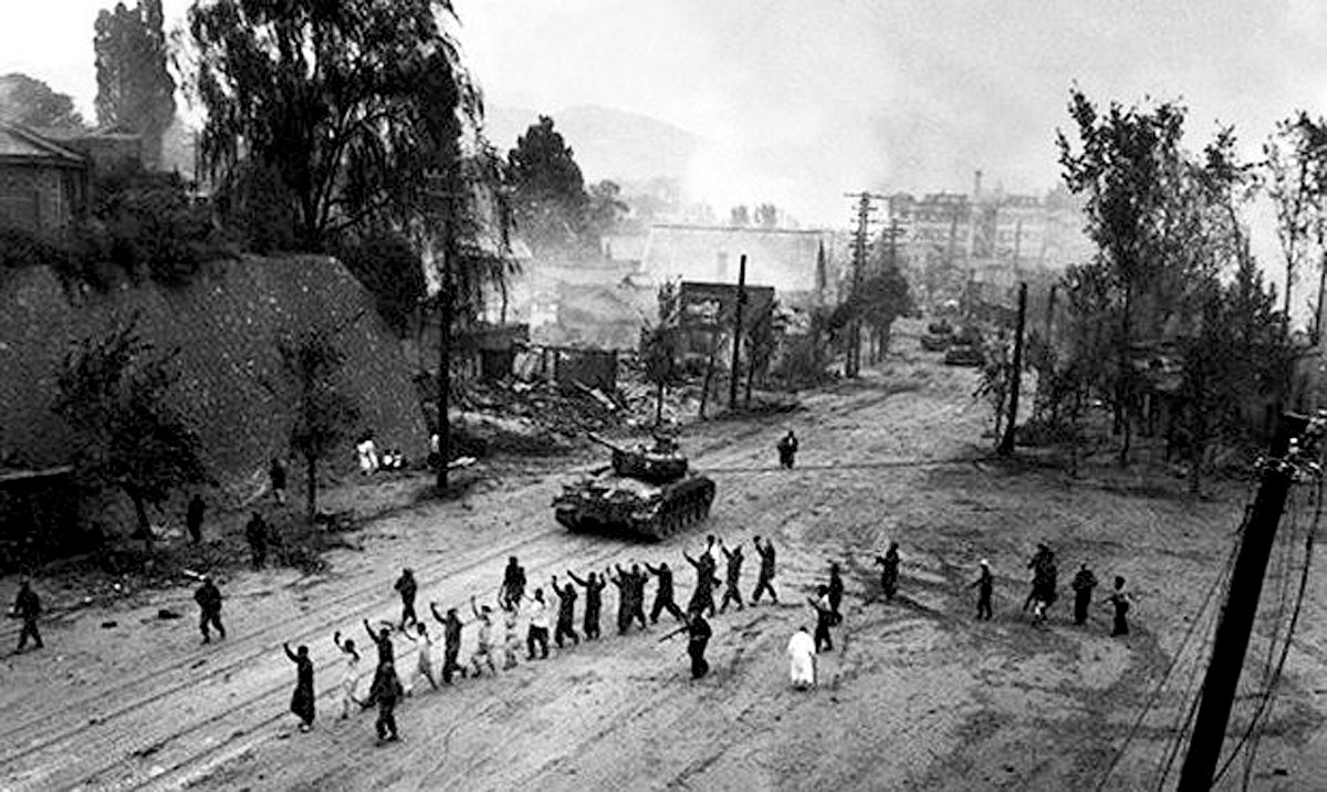 thesis korean war The korean war after five years of simmering tensions on the korean peninsula, the korean war began on june 25, 1950.