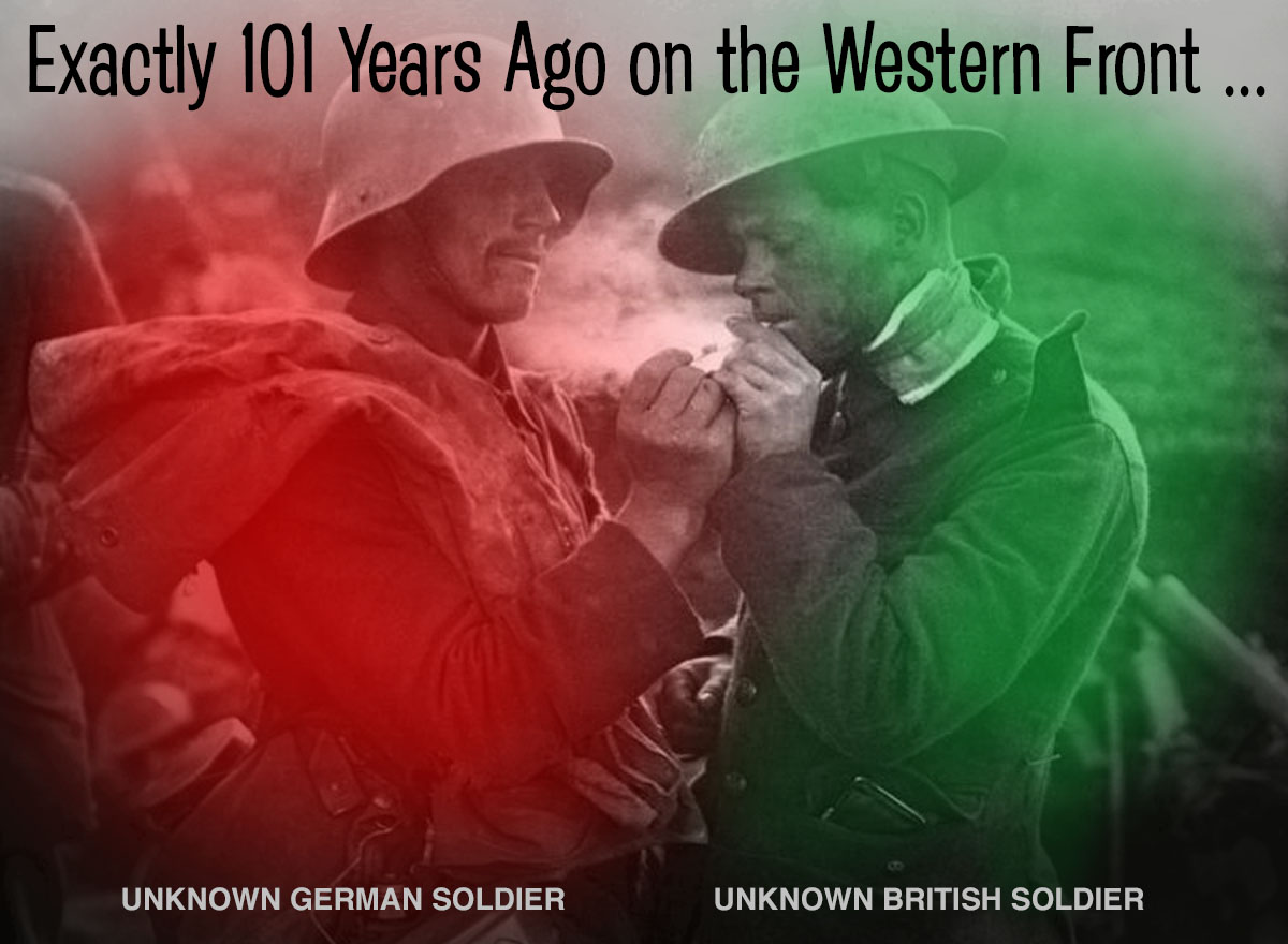 Exactly 101 Years Ago on the Western Front